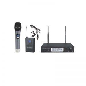 Bežični mikrofon komplet - okovratni i ručni wirelles, MI-170A