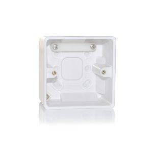 Plastična kutija za površinsku montažu na zid za VC 5RX, VC 30RX i VC 60RX kontrolere nivoa zvuka, pBox.